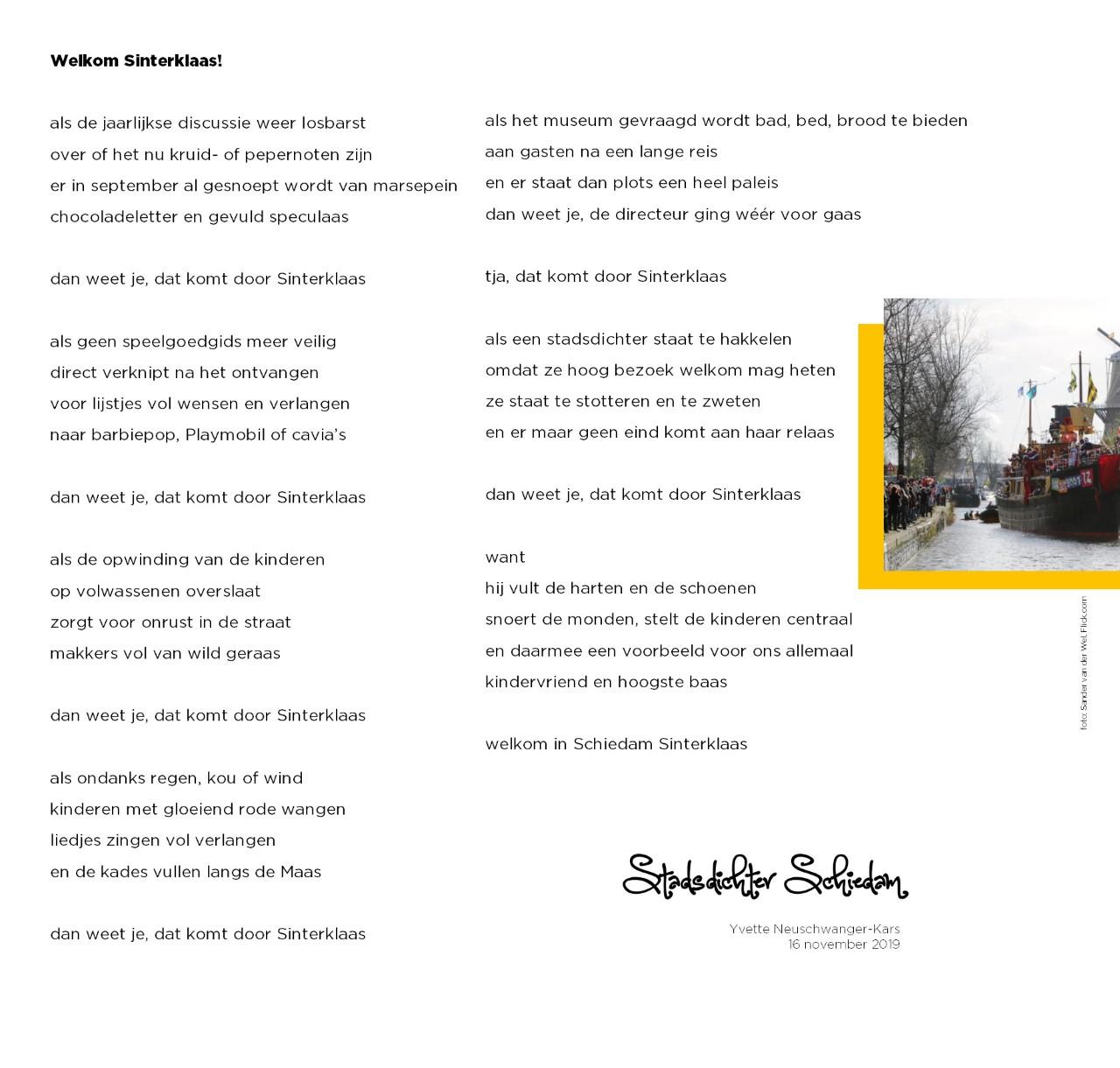 Literair Gezelschap Schiedam Gedichten Stadsdichter Schiedam